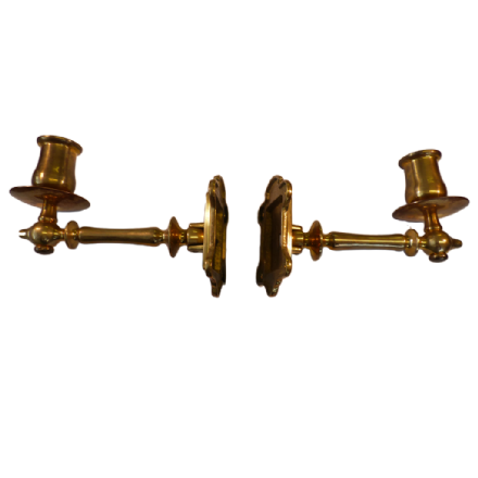 Sconces - Machined Brass Sconces